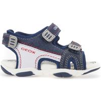 Schoenen Kinderen Outdoorsandalen Geox B821AA 08522 Blauw
