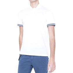 Textiel Heren Polo's korte mouwen Antony Morato MMKS00999 FA100083 Wit