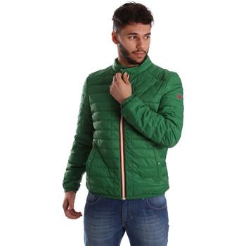 Textiel Heren Dons gevoerde jassen Gaudi 71BU35035 Groen