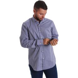 Textiel Heren Overhemden lange mouwen Gmf 971134/05 Blauw