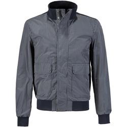 Textiel Heren Wind jackets Geox M7220T TQ199 Blauw