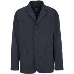 Textiel Heren Mantel jassen Geox M7221A T2317 Blauw
