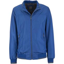 Textiel Heren Wind jackets Geox M7221U T2050 Rood