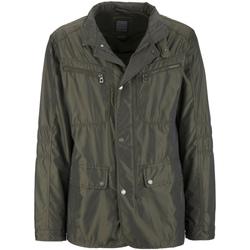 Textiel Heren Parka jassen Geox M7221W T0706 Groen