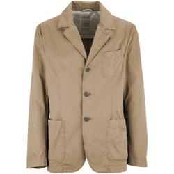 Textiel Heren Jasjes / Blazers Geox M7223C T2343 Beige