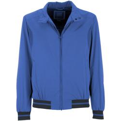 Textiel Heren Wind jackets Geox M7223E T2334 Blauw