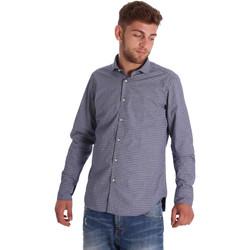 Textiel Heren Overhemden lange mouwen Gmf 971192/03 Blauw