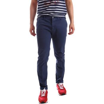 Textiel Heren Chino's Sei3sei PZV20 71341 Blauw