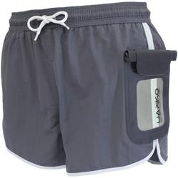 Textiel Heren Zwembroeken/ Zwemshorts Uakko 100/002 Grijs