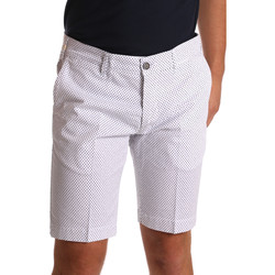 Textiel Heren Korte broeken / Bermuda's Sei3sei PZV132 71336 Wit