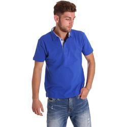 Textiel Heren Polo's korte mouwen Bradano 000116 Blauw