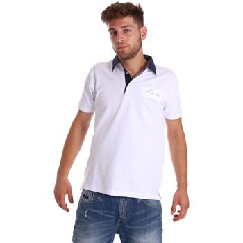 Textiel Heren Polo's korte mouwen Bradano 000115 Wit