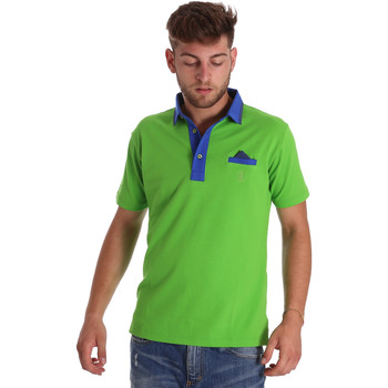 Textiel Heren Polo's korte mouwen Bradano 000114 Groen
