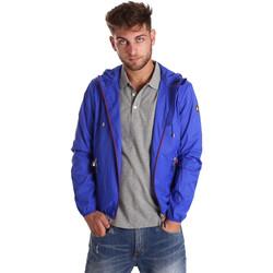 Textiel Heren Windjack U.S Polo Assn. 38275 43429 Blauw