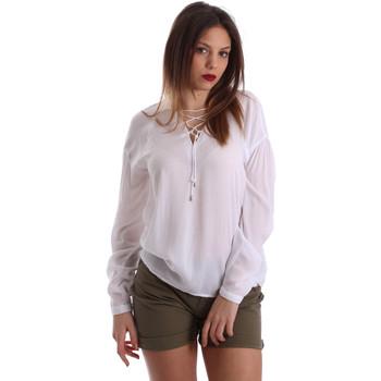 Textiel Dames Tops / Blousjes Gaudi 73BD47209 Wit