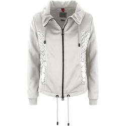 Textiel Dames Sweaters / Sweatshirts Geox W7221M TC085 Grijs