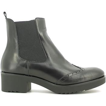 Schoenen Dames Enkellaarzen Susimoda 856884 Zwart