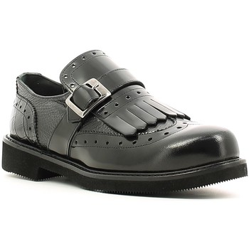 Schoenen Dames Derby Melluso K20041 Zwart