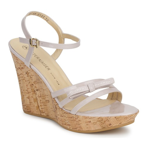 Schoenen Dames Sandalen / Open schoenen Peter Kaiser RUTH Beige