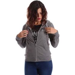 Textiel Dames Sweaters / Sweatshirts Key Up SIX2 0001 Grijs