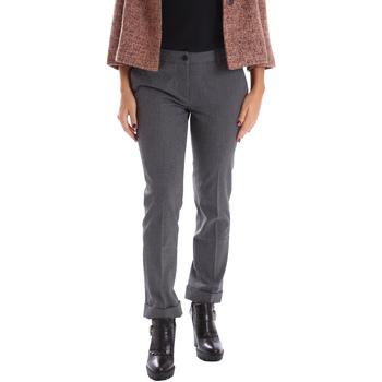 Textiel Dames Chino's Gazel AB.PA.LU.0040 Grijs