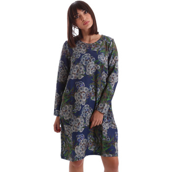 Textiel Dames Korte jurken Gazel AB.AB.ML.0026 Blauw