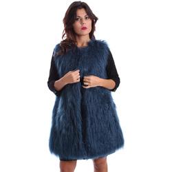 Textiel Dames Mantel jassen Gazel AB.CS.GL.0001 Blauw