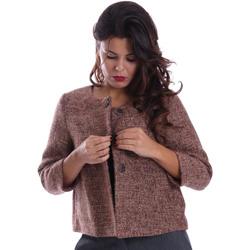 Textiel Dames Mantel jassen Gazel AB.CS.GI.0043 Roze
