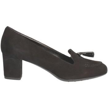Schoenen Dames Mocassins Grace Shoes 206 Zwart