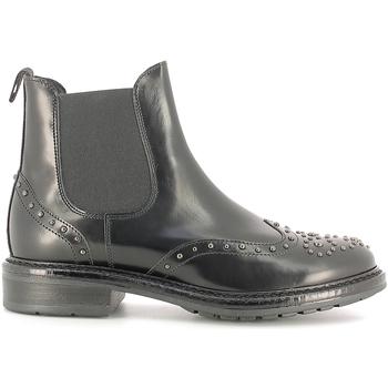 Schoenen Dames Enkellaarzen Soldini 19960-B Zwart