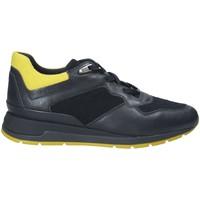 Schoenen Dames Lage sneakers Geox D44N1A 085NY Blauw