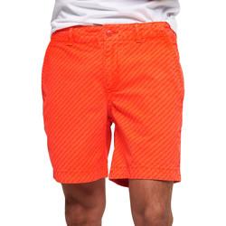 Textiel Heren Zwembroeken/ Zwemshorts Superdry M71012KT Oranje