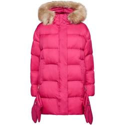 Textiel Dames Dons gevoerde jassen Geox W9428V T2580 Roze