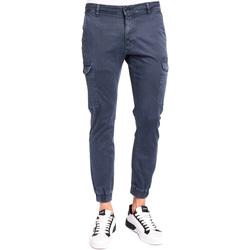 Textiel Heren Cargobroek Gaudi 921BU25011 Blauw