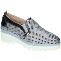 Schoenen Dames Mocassins Grace Shoes J306 Grijs