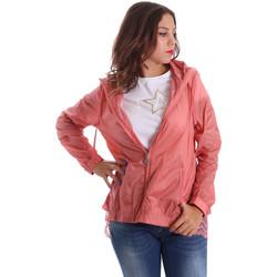 Textiel Dames Windjack Fornarina BE173C30N29968 Roze