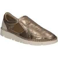 Schoenen Dames Instappers Mally 5708 Goud