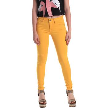 Textiel Dames Skinny Jeans Fornarina BE171L37D86846 Geel