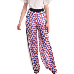 Textiel Dames Losse broeken / Harembroeken Fornarina BE171L91CA0676 Wit
