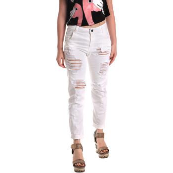 Textiel Dames Boyfriend jeans Fornarina BE171L94D877KM Wit