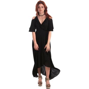 Textiel Dames Lange jurken Fornarina BE178D69CA2000 Zwart