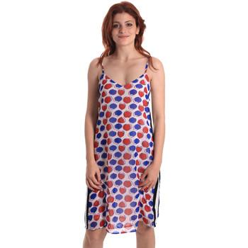 Textiel Dames Korte jurken Fornarina BE178D82CA0676 Wit