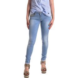 Textiel Dames Skinny Jeans Fornarina BER1H37D709R60 Blauw