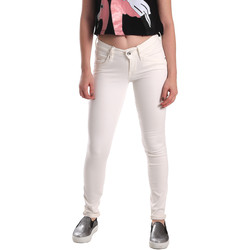 Textiel Dames Skinny Jeans Fornarina BER1H37D73409S Wit