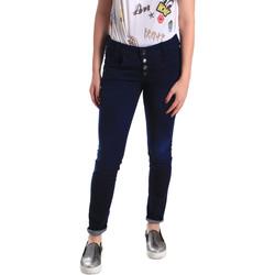 Textiel Dames Skinny Jeans Fornarina BER1I02D784R50 Blauw