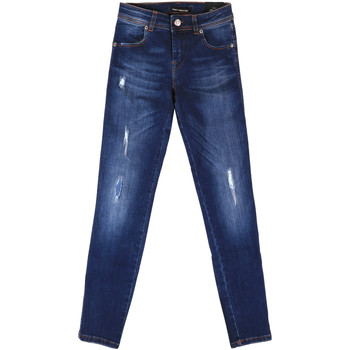 Textiel Dames Boyfriend jeans Fornarina BER1I89D844UA Blauw
