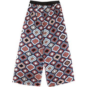 Textiel Dames Losse broeken / Harembroeken Fornarina BER1L08C98294 Zwart
