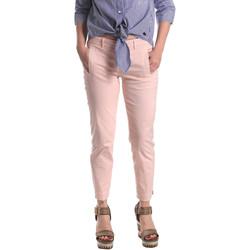 Textiel Dames Chino's Fornarina SE171L74G291C5 Roze