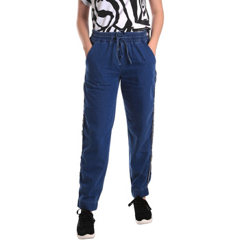 Textiel Dames Straight jeans Fornarina SE171L93D883SK Blauw