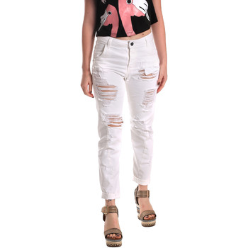 Textiel Dames Boyfriend jeans Fornarina SE171L94D877KM Wit